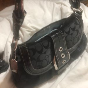 COACH black Bag like new
